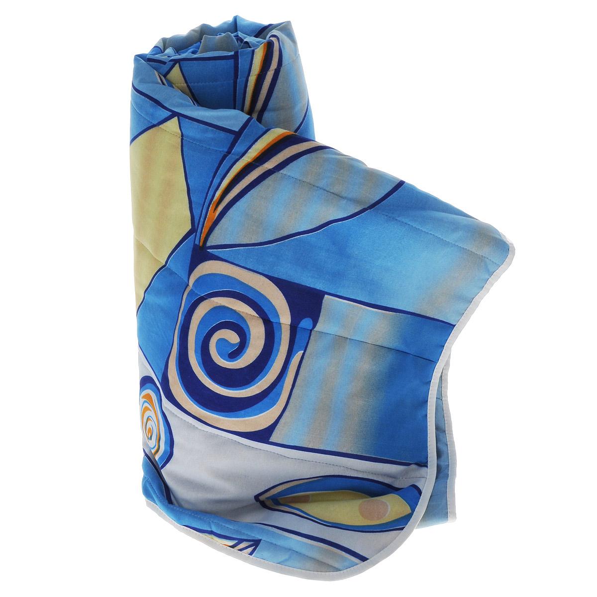 Одеяло летнее OL-Tex Miotex, наполнитель: холфитекс, цвет: синий, желтый, 200 х 220 смS03301004Чехол летнего одеяла OL-Tex Miotex выполнен из высококачественного полиэстера. Наполнитель - холфитекс. Одеяло простегано - значит, наполнитель внутри будет всегда распределен равномерно. Изделие оформлено ярким рисунком.Идеально подойдет тем, кто ценит мягкость и тепло. Ручная стирка при температуре 30°С. Материал чехла: 100% полиэстер.Наполнитель: холфитекс.
