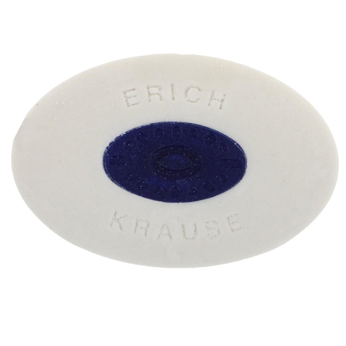 Ластик Erich Krause Smart, центровкой, цвет: белый730396Ластик Erich Krause Smart станет незаменимым аксессуаром на рабочем столе не только школьника или студента, но и офисного работника. Для удобства использования в центре расположена пластиковая вставка.