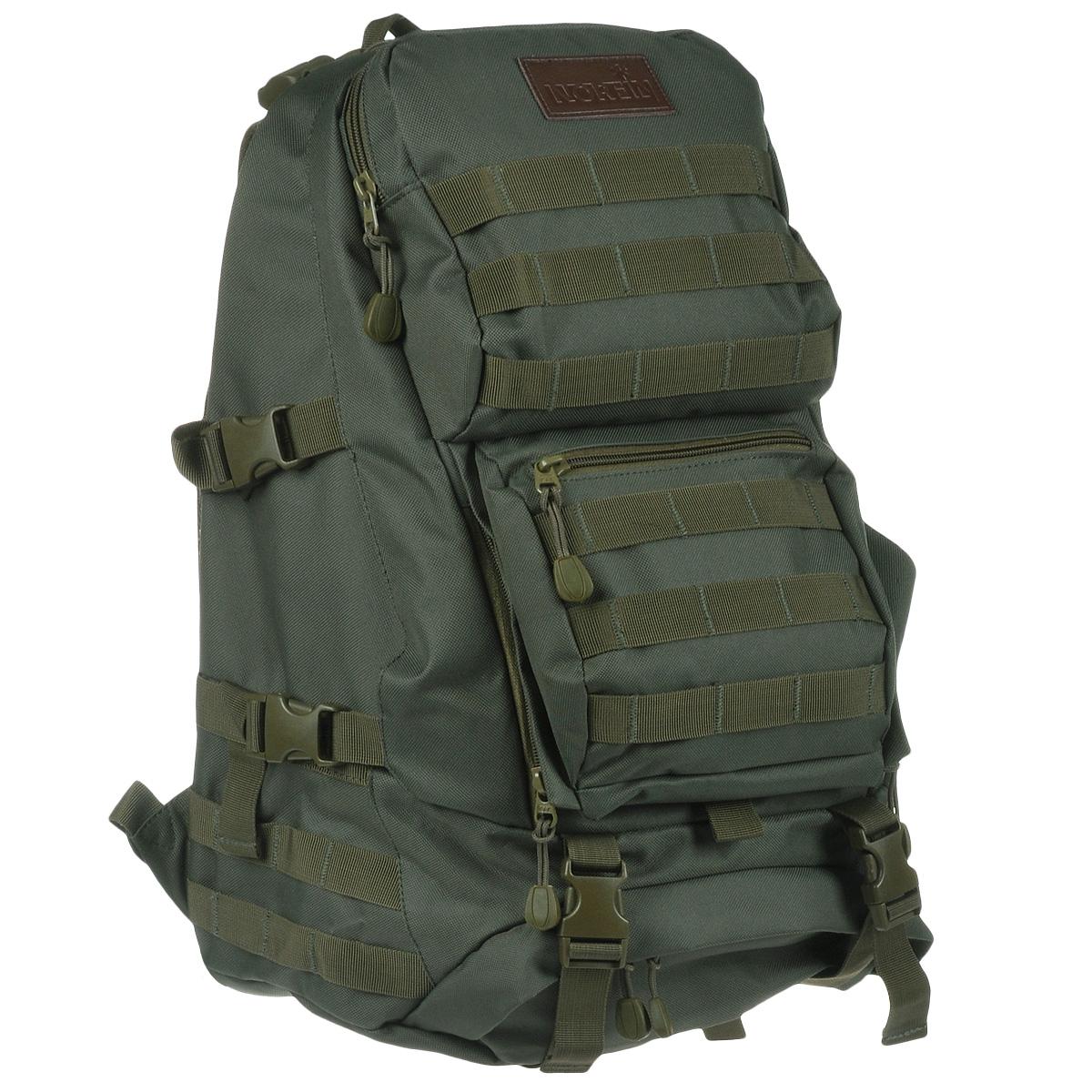 Рюкзак тактический Norfin  Tactic , цвет: зеленый, 40 л - Туристические рюкзаки