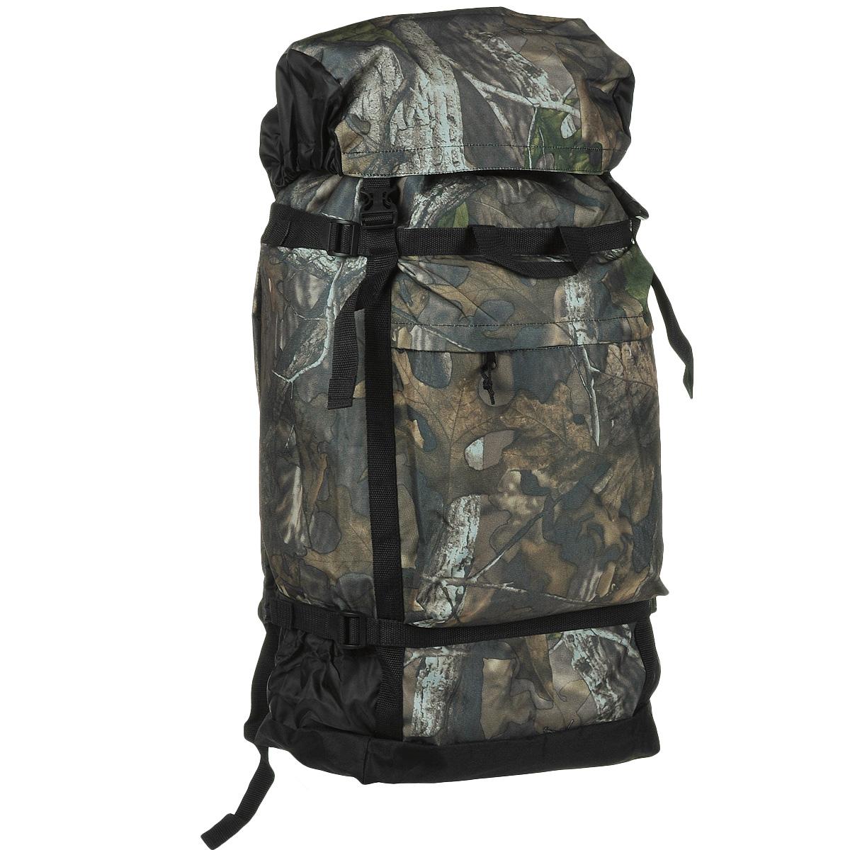 Рюкзак Huntsman Боровик, цвет: лес, 40 л рюкзак huntsman пикбастон цвет камуфляж 80 л
