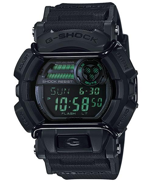 Часы мужские наручные Casio G-SHOCK, цвет: черный. GD-400MB-1EBM8241-01EEСтильные мужские часы Casio G-SHOCK выполнены из полимерных материалов и минерального стекла. Изделие дополнено светодиодной подсветкой высокой яркости, корпус часов оформлен символикой бренда. В часах предусмотрен цифровой отсчет времени. Часы оснащены функцией мирового времени, которая позволяет мгновенно выяснять текущее время. Часы могут быть настроены на подачу тонального или светового сигнала при наступлении выставленного времени. Функция таймера позволит обеспечить обратный отсчет времени, начиная с выставленного и подачу тонального или светового сигнала, когда отсчет доходит до нуля. Функция секундомера позволит замерять прошедшее время в пределах тысячи часовс точностью 1/100 секунды, предусмотрен будильник. Степень влагозащиты 20 atm. Изделие дополнено ремешком из полимерного материала, который обладает антибактериальными и запахоустойчивыми свойствами. Ремешок застегивается на пряжку, позволяющую максимально комфортно и быстро снимать и одевать часы.Часы поставляются в фирменной упаковке.Многофункциональные часы Casio G-SHOCK подчеркнут мужской характер и отменное чувство стиля у их обладателя.