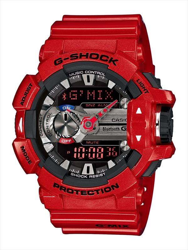 Часы мужские наручные CASIO G-SHOCK, цвет: красный, серебристый. GBA-400-4ABM8434-58AEСтильные мужские часы CASIO G-SHOCK выполнены из полимерных материалов и минерального стекла. Изделие дополнено светодиодной подсветкой высокой яркости, корпус часов оформлен символикой бренда. В часах предусмотрен аналоговый и цифровой отсчет времени. Часы оснащены функцией Mobile linkкоторая обеспечивает связь межу ними и смартфоном Bluetooth SMART и позволяет выставлять время на часах в соответствии со временем на смартфоне. Функция часовых зон позволяет мгновенно выяснять текущее время. Часы могут быть настроены на подачу тонального или светового сигнала при наступлении выставленного времени. Функция таймера позволит обеспечить обратный отсчет времени, начиная с выставленного и подачу тонального или светового сигнала, когда отсчет доходит до нуля. Функция секундомера позволит замерять прошедшее время в пределах тысячи часовс точностью 1/100 секунды. Степень влагозащиты 20 atm. Изделие дополнено ремешком из полимерного материала, который обладает антибактериальными и запахоустойчивыми свойствами. Ремешок застегивается на пряжку, позволяющую максимально комфортно и быстро снимать и одевать часы.Часы поставляются в фирменной упаковке.Многофункциональные часы CASIO G-SHOCK подчеркнут мужской характер и отменное чувство стиля у их обладателя.