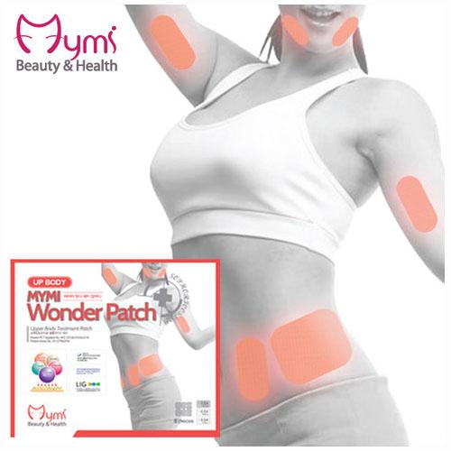 MYMI Wonder Patch Upbody Патчи для похудения верхней части тела 3 шт.FS-36054Пластырь для похудения в области талии и верхних частей тела Mymi Wonder Patch Up Body является уникальным средством для поддержания красивой и стройной фигуры. Он изготовлен по рецептам древней китайской медицины. Пластырь рекомендуют применять при ожирении и лишнем весе. Он способствует улучшению работы желудочно-кишечного тракта и кишечника.Содержит в своем составе большой набор натуральных лекарственных растений, которые быстро проникают в подкожный слой, активируют обменные процессы, усиливают кровообращение, выводят токсины и излишки влаги, сжигают жир, улучшают эластичность кожного покрова, подтягивают живот. Активные компоненты, входящие в состав пластыря, восстанавливают функции лимфатической и эндокринной систем. Пластырь для похудения Mymi Wonder Patch не обладает побочными эффектами.