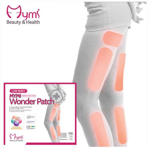 MYMI Wonder Patch Lowbody Патчи для похудения нижней части тела 3 шт.A7595600Пластырь для похудения для нижней части тела Mymi Wonder Patch Low Body является уникальным средством для поддержания красивой и стройной фигуры. Он изготовлен по рецептам древней китайской медицины. Пластырь рекомендуют применять при ожирении и лишнем весе. Он способствует улучшению работы желудочно-кишечного тракта и кишечника. Содержит в своем составе большой набор натуральных лекарственных растений, которые быстро проникают в подкожный слой, активируют обменные процессы, усиливают кровообращение, выводят токсины и излишки влаги, сжигают жир, улучшают эластичность кожного покрова, подтягивают живот. Активные компоненты, входящие в состав пластыря, восстанавливают функции лимфатической и эндокринной систем. Пластырь для похудения Mymi Wonder Patch не обладает побочными эффектами.