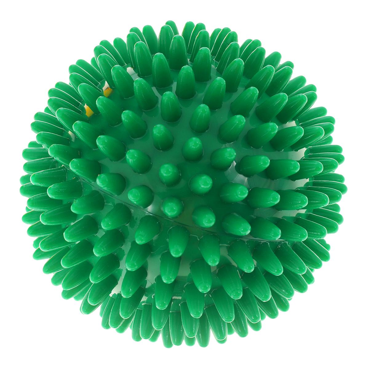 Игрушка для собак V.I.Pet Массажный мяч, цвет: зеленый, диаметр 10 см0120710Игрушка для собак V.I.Pet Массажный мяч, изготовленная из ПВХ, предназначена для массажа и самомассажа рефлексогенных зон. Она имеет мягкие закругленные массажные шипы, эффективно массирующие и не травмирующие кожу. Игрушка не позволит скучать вашему питомцу ни дома, ни на улице.Диаметр: 10 см.