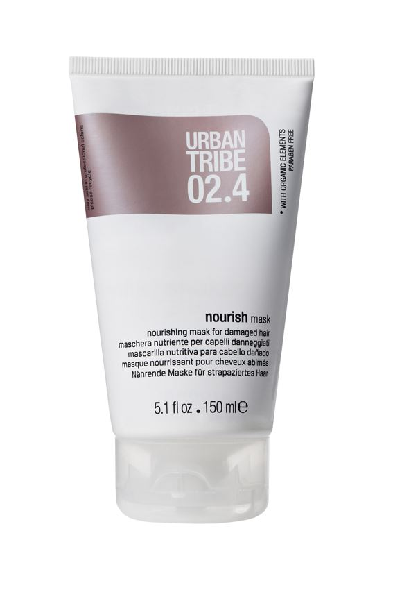 URBAN TRIBE Питательная маска для поврежденных волос 150 мл.MP767Питательная маска для поврежденных волос. Специальные роскошные активные ингредиенты глубоко питают волосы, делая их более густыми, мягкими, блестящими и облегчая расчесывание.