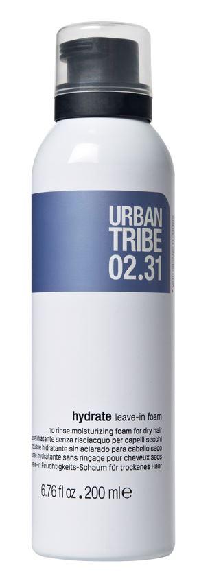 URBAN TRIBE Увлажняющая пена для сухих волос без смывания 200 мл.1106450821Увлажняющая несмываемая пена для всех типов волос. Специальные роскошные активные ингредиенты глубоко увлажняют и кондиционируют, питают внешнюю и внутреннюю структуры волос, делают их более послушными, мягкими, сияющими и полными жизненной силы.