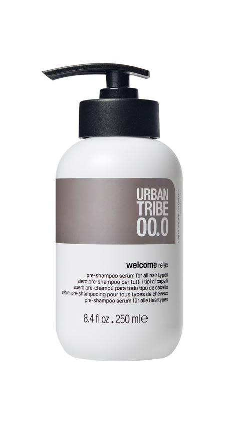 URBAN TRIBE Подготовительный шампунь для всех типов волос Pre-Shampoo Serum 250 мл.83020242Подготовительный шампунь для всех типов волос (pre-shampoo). Urban Tribeдарит потрясающее наслаждение, начинающееся с приветственного ухода: расслабляющая формула, содержащая специальные эфирные масла и эксклюзивные активные ингредиенты, доставляет истинное наслаждение, а простой приятный массаж подготавливает волосы, делая их более послушными и увлажняя их перед очищением.