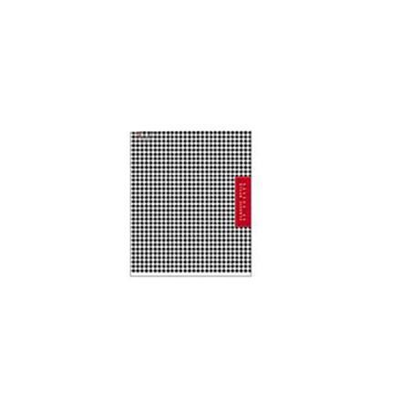 Блокнот 80л А5ф клетка на скрепке Classic Style34238Блокнот с обложкой из картона, защищающей бумагу от деформации.
