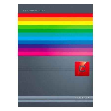 Тетрадь 80л А4ф 5 цв. блок клетка на клею Яркие полосы72523WDТетрадь с обложкой из картона, защищающей бумагу от деформации.