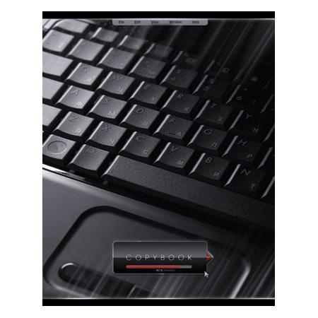 Тетрадь 80л А5ф на гребне выб лак серия Офис72523WDТетрадь с обложкой из картона, защищающей бумагу от деформации.