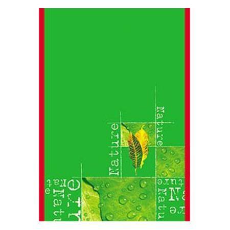 Блокнот 96л А5ф клетка на скобе выб лак NatureC13S400035Блокнот с обложкой из картона, защищающей бумагу от деформации.