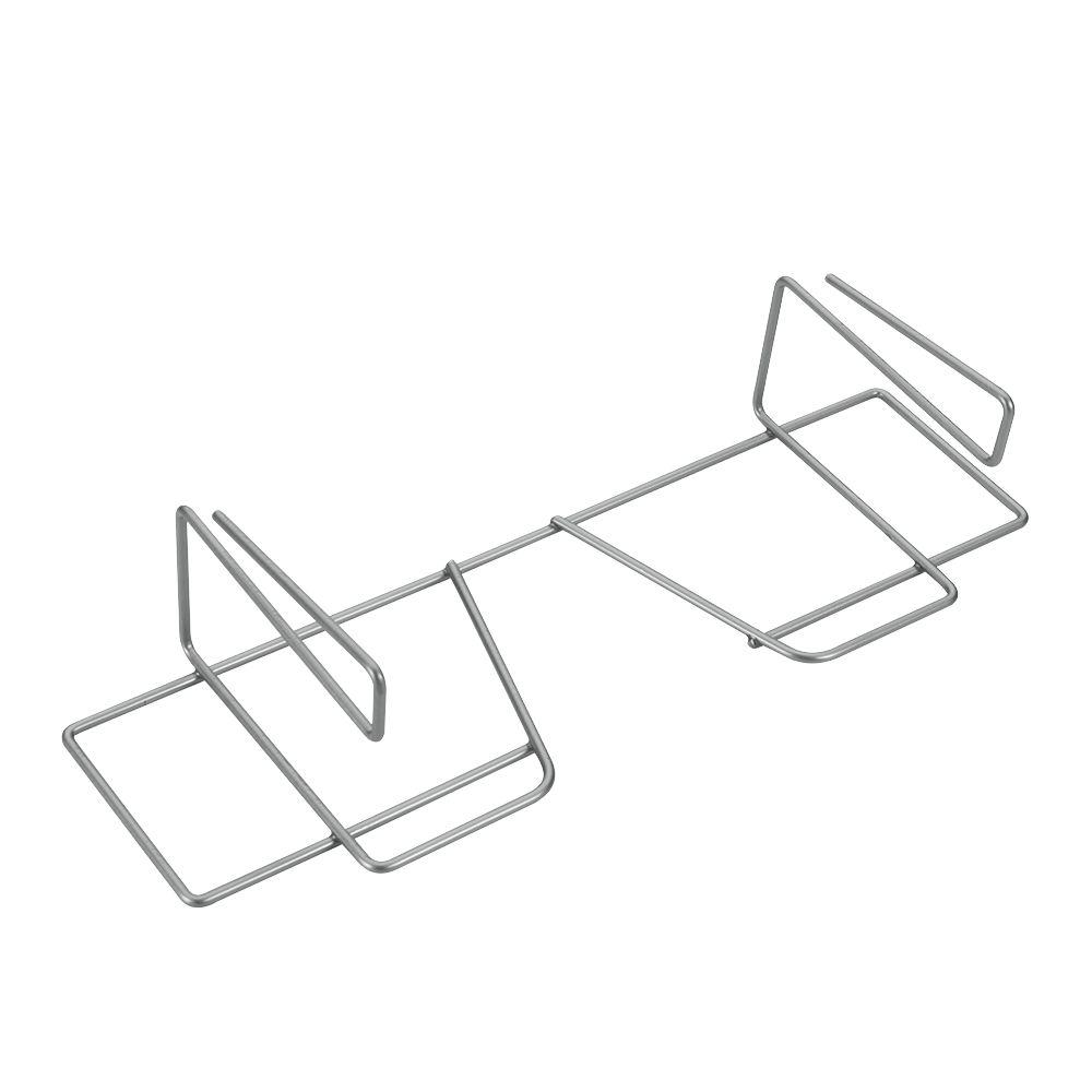 Держатель для бумаги и фольги Metaltex Wrap, цвет: серебристыйFA-5125 WhiteДержатель Metaltex Wrap предназначен для хранения бумаги и фольги. Он выполнен из высококачественной стали со специальным политермическим покрытием серебристого цвета Polyterm, которое не повредит вашу мебель.Благодаря компактным размерам держатель впишется в интерьер вашей кухни и позволит вам удобно и практично хранить фольгу и бумагу для выпечки.Вы можете закрепить держатель на внутренней или внешней части полки кухонной мебели, не прибегая к сверлению или приклеиванию.