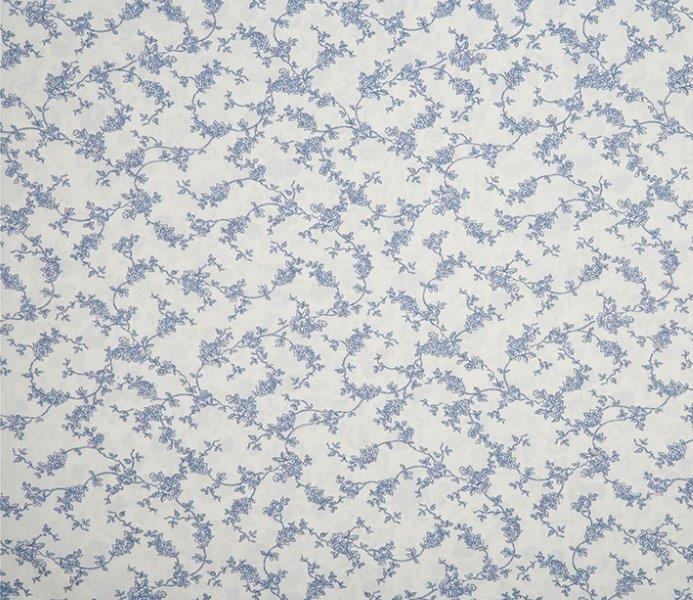 Ткань Alice ivoire, ширина 110см, в упаковке 1м, 100% хлопок, коллекция Les bleus /Небесно-голубой/. BACE.IB41979Ткань Alice ivoire, ширина 110см, в упаковке 1м,100% хлопок, коллекция Les bleus /Небесно-голубой/