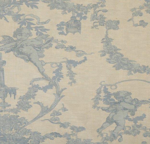 Ткань Cherubin chambray, ширина 110см, в упаковке 1м, 100% хлопок, коллекция Les bleus /Небесно-голубой/. BCH.317709264_ белый/красныйТкань Cherubin chambray, ширина 110см, в упаковке 1м,100% хлопок, коллекция Les bleus /Небесно-голубой/