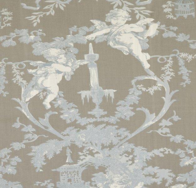 Ткань Cherubin beige, ширина 110см, в упаковке 1м, 100% хлопок, коллекция Les bleus /Небесно-голубой/. BCH.397709293_бордовыйТкань Cherubin beige, ширина 110см, в упаковке 1м,100% хлопок, коллекция Les bleus /Небесно-голубой/