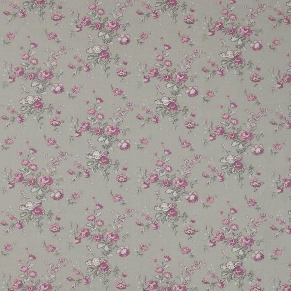 Ткань Marion gris, ширина 110см, в упаковке 1м, 100% хлопок, коллекция Les violets /Благородно-фиолетовый/. BION.YPBAO.16Ткань Marion gris, ширина 110см, в упаковке 1м,100% хлопок, коллекция Les violets /Благородно-фиолетовый/