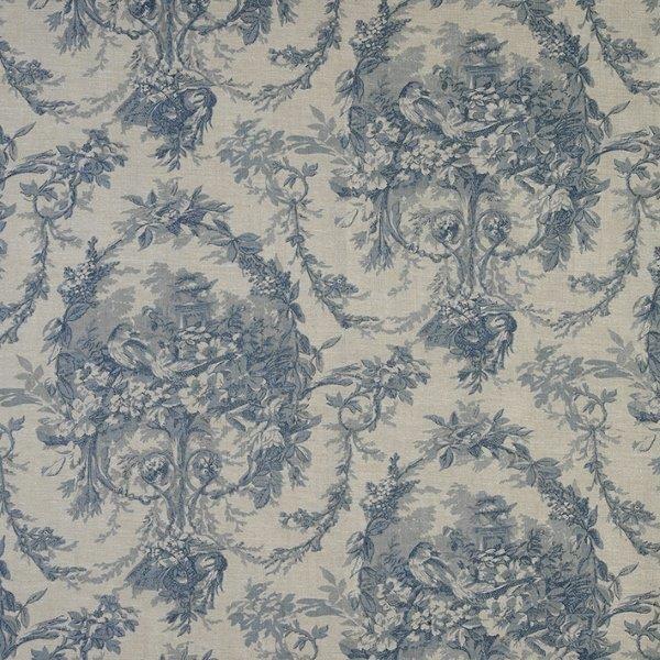 Ткань Melanie, ширина 110см, в упаковке 1м, 100% хлопок, коллекция Les bleus /Небесно-голубой/. BME.CHB7709272Ткань Melanie, ширина 110см, в упаковке 1м,100% хлопок, коллекция Les bleus /Небесно-голубой/