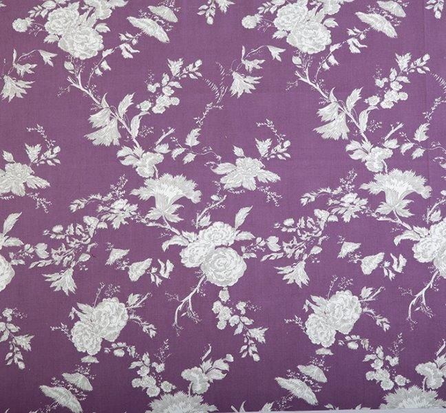 Ткань Satya violet, ширина 110см, в упаковке 1м, 100% хлопок, коллекция Les violets /Благородно-фиолетовый/. BSY.451109356Ткань Satya violet, ширина 110см, в упаковке 1м,100% хлопок, коллекция Les violets /Благородно-фиолетовый/
