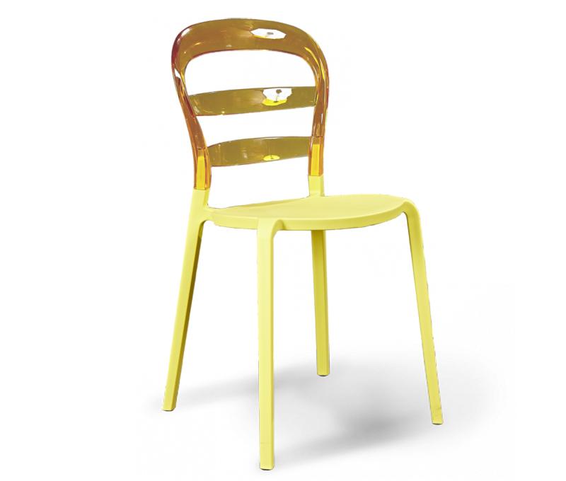 Стул Sheffilton, цвет: янтарь, бежевый, 50 х 45 х 85 см98295719Яркий пластмассовый стул Sheffilton станет стильным акцентом вашего интерьера. Он отлично подойдет как для дома, так и для кафе, баров, ресторанов и многих других общественных мест. Сидение и каркас выполнен из поликарбоната. Материал изделия устойчив к деформациям, механическому воздействию и легок в уходе, стул практически не утрачивает внешнего вида в процессе длительной эксплуатации. Можно штабелировать, что позволяет экономить место при хранении. Толщина сиденья: 7 мм. Размер сиденья: 35 см х 37,5 см. Высота спинки: 32,5 см. Максимальная нагрузка: 150 кг.