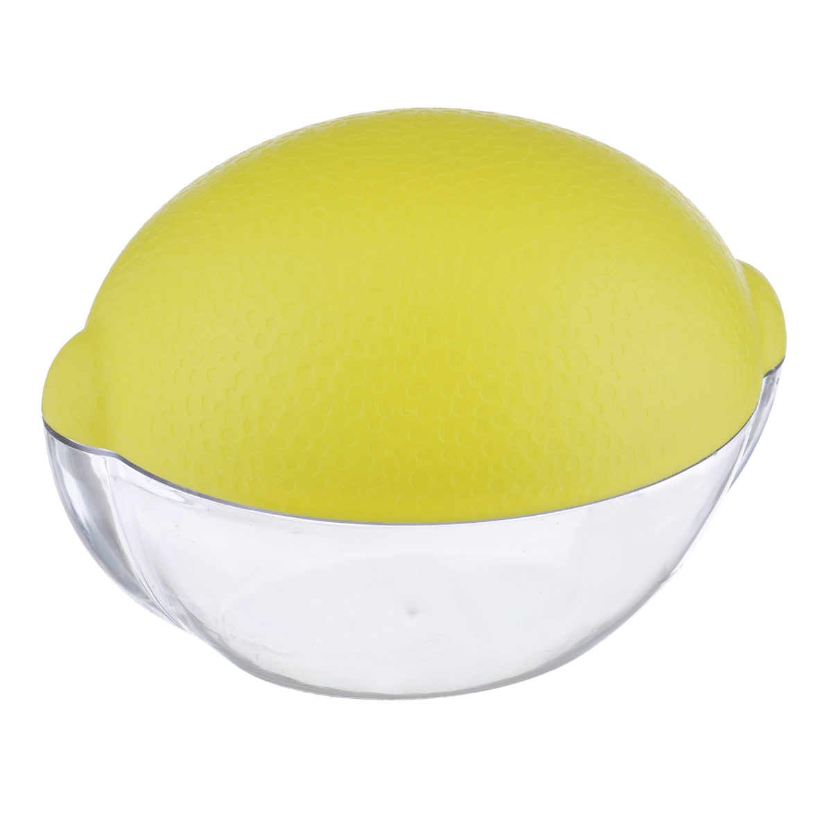 Контейнер для лимона Phibo, цвет: прозрачный, желтый54 009312Контейнер для лимона Phibo изготовлен из высококачественного прочного полистирола в виде лимона. Такой контейнер - это уникальное полезное приобретение для тех, кто привык к порядку в холодильнике. Такой чехол сохранит вкусовые качества лимона и предохранит его от заветривания.