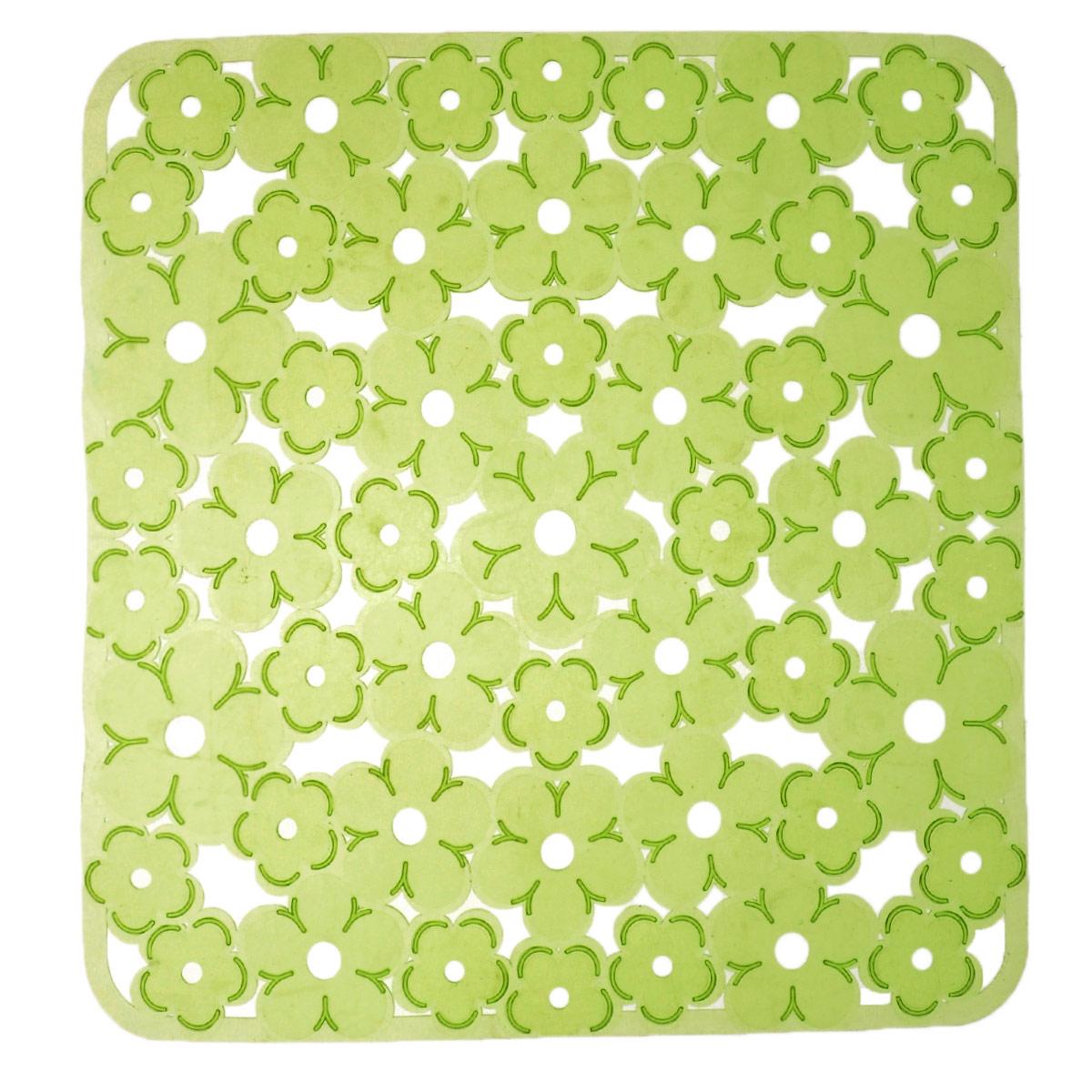 Коврик для раковины Metaltex, цвет: салатовый, 32 х 32 см28.75.38Коврик для раковины Metaltex изготовлен из ПВХ с цветочным рисунком. Коврик имеет квадратную форму, поэтому прекрасно подойдет для любых раковин. Такой коврик защитит вашу посуду во время мытья, а также предотвратит засор труб, задерживая остатки пищи.