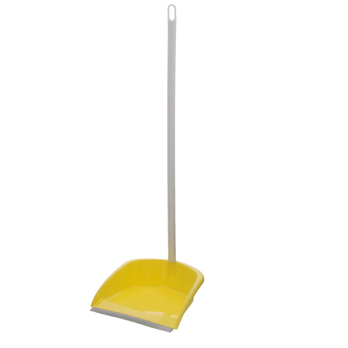 Совок с высокой ручкой Apex Alza Immondizia Basic, цвет: желтый10172-AСовок с высокой ручкой Apex Alza Immondizia Basic сделает уборку намного комфортнее и приятнее. Выполнен из высокопрочного пластика и оснащен резиновым краем, благодаря которому грязь и мусор легко сметаются. Высокая ручка обеспечивает дополнительное удобство. С помощью отверстия в ручке совок можно разместить в любом месте. Теперь ваша однообразная уборка станет праздником.