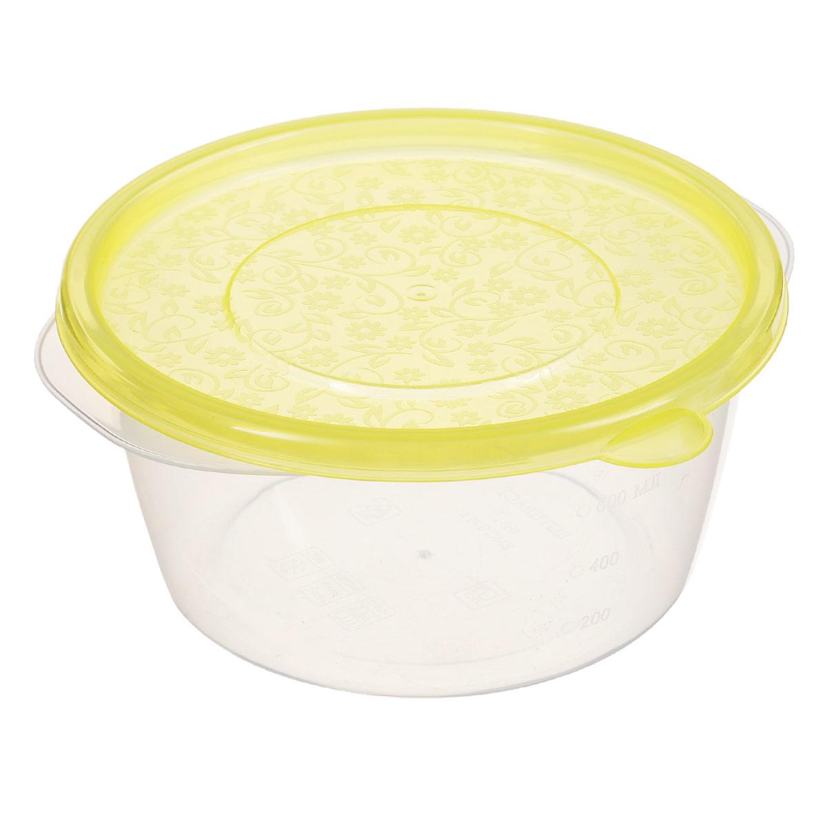 Контейнер Phibo Арт-Декор, цвет: желтый, 750 мл1200 02 105Контейнер Phibo Арт-Декор изготовлен из высококачественного полипропилена и не содержит Бисфенол А. Крышка легко и плотно закрывается, украшена узором в виде цветков. Контейнер устойчив к воздействию масел и жиров, легко моется.Подходит для использования в микроволновых печах при температуре до +100°С, выдерживает хранение в морозильной камере при температуре -24°С, его можно мыть в посудомоечной машине при температуре до +95°С.
