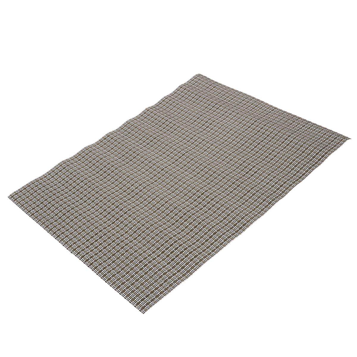Подставка под горячее Bradex, цвет: серый, 45 см х 30 смFS-91909Прямоугольная подставка под горячее Bradex, выполненная из прочного ПВХ, не боится высоких температур и легко чистится от пятен и жира.Каждая хозяйка знает, что подставка под горячее - это незаменимый и очень полезный аксессуар на каждой кухне. Ваш стол будет не только украшен оригинальной подставкой, но и сбережен от воздействия высоких температур ваших кулинарных шедевров.