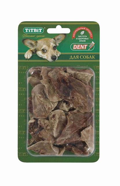 Лакомство для собак Titbit, баранье легкое, 15 шт0120710Упаковка содержит 15-18 кусочков высушенного бараньего легкого. Высокое содержание микроэлементов и соединительной ткани дополняет удовольствие собаки от нежного лакомства. Легкие очень вкусны, малокалорийны и замечательно усваиваются организмом. Легкие содержат практически такой же набор витаминов, как и мясо, но зато гораздо менее жирные. Оказывают положительное воздействие на состояние кожи, шерсти и общий обмен веществ. Кусочки очень удобно использовать в качестве поощрения при дрессуре, и просто на прогулках. Для собак всех пород и возрастов. Особенно рекомендуется для собак с неполной зубной формулой и возрастными изменениями зубочелюстного аполипропиленовый пакетарата. Благодаря вкусовым качествами воздушной структуре является одним из самых любимых лакомствдля наших четвероногих друзей. Состав: Высушенные кусочки бараньего легкого.
