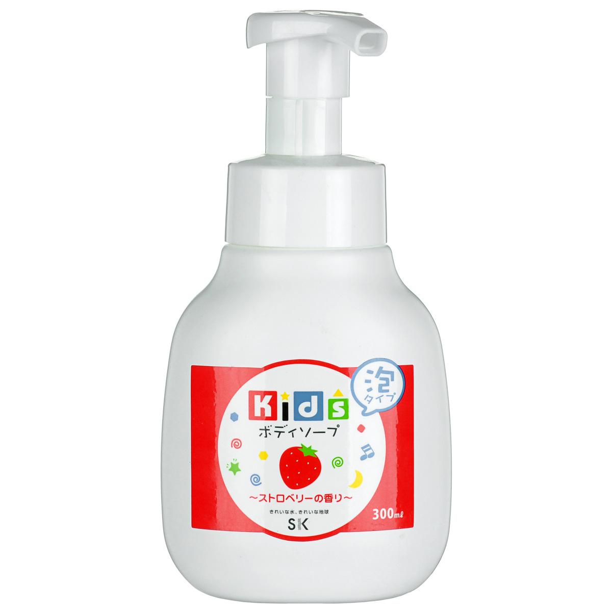 SK Kids Детское пенное мыло для тела с ароматом клубники, 300 мл1341106Воздушное детское пенное мыло порадует вашего малыша сочным ароматом клубники и мыльными пузырьками! Очищает детскую кожу и обеспечивает полноценный уход за ней. Средство абсолютно безопасно. Экстракт клубники, в составе пенки, увлажнит и окажет противовоспалительное действие на нежную кожу. Не содержит ПАВ, искусственных красителей, ароматизаторов, антиоксидантов, поэтому мыло необходимо хранить в местах, защищенных от прямых солнечных лучей, высокой температуры и влажности. Проверено дерматологами.