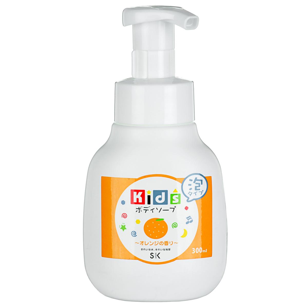 SK Kids Детское пенное мыло для тела с ароматом апельсина, 300 мл1731206Воздушное детское пенное мыло порадует вашего малыша сочным ароматом апельсина и мыльными пузырьками! Очистит детскую кожу и обеспечит полноценный уход за ней, абсолютно безопасно. Экстракт апельсиновой цедры, в составе пенки, смягчит и окажет тонизирующее действие на нежную кожу. Не содержит ПАВ, искусственных красителей, ароматизаторов, антиоксидантов, поэтому мыло необходимо хранить в местах, защищенных от прямых солнечных лучей, высокой температуры и влажности. Проверено дерматологами.