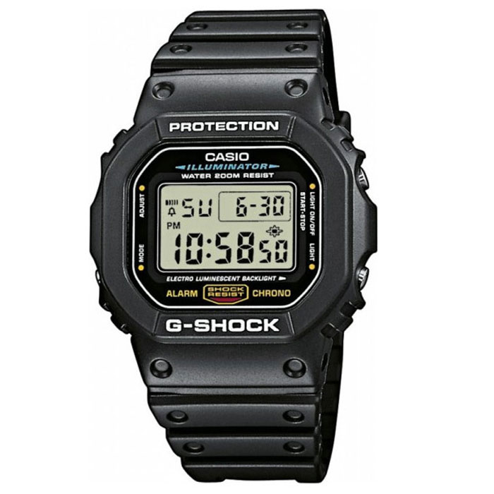Наручные часы Casio DW-5600E-1VBM8434-58AEМужские часы Casio DW-5600E.