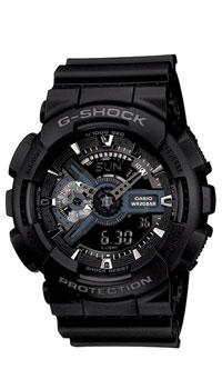 Наручные часы Casio GA-110-1BBM8434-58AEЧасы водонепроницаемые и противоударные Casio GA-110.