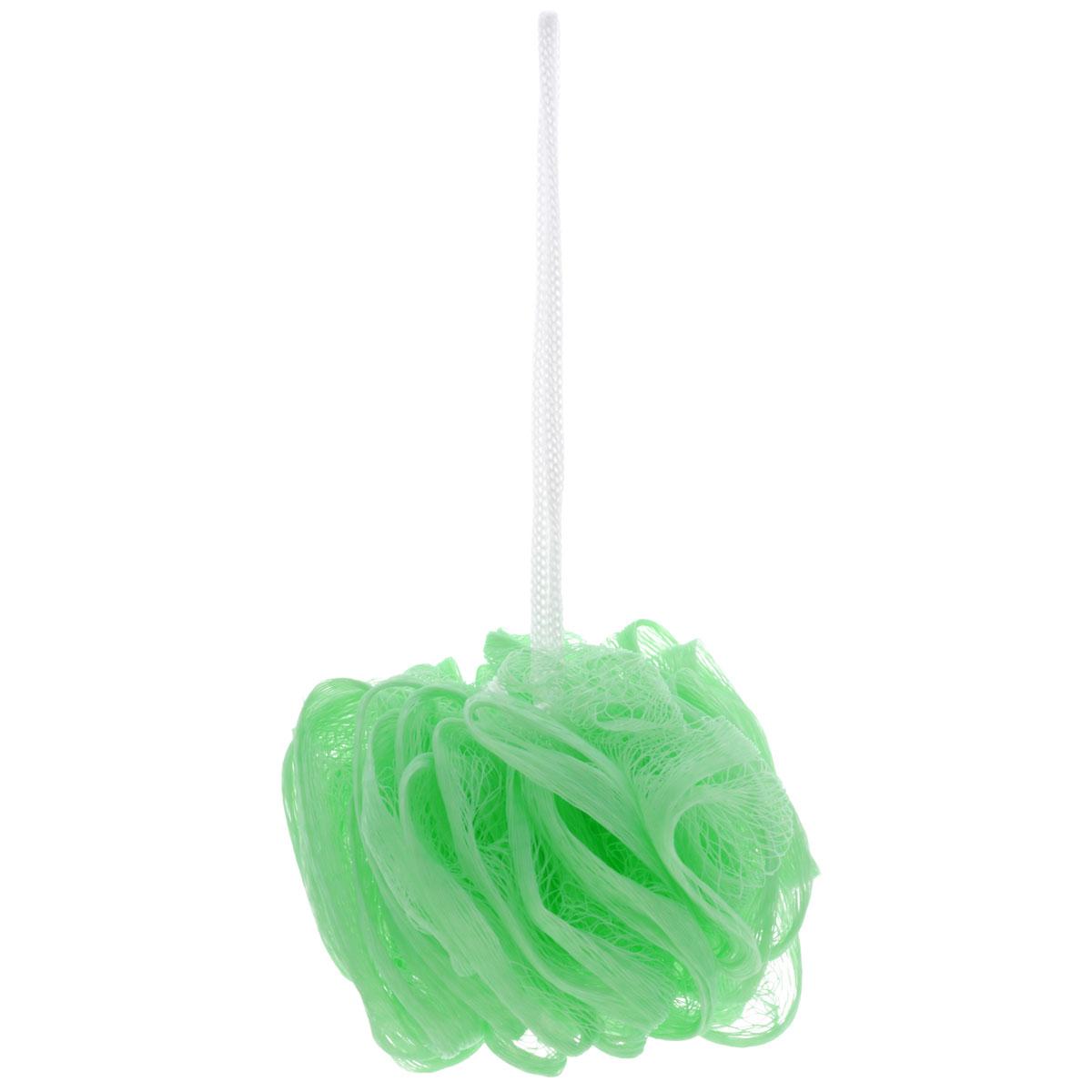 Мочалка The Body Time, цвет: светло-зеленый28032022Мочалка The Body Time, выполненная из нейлона, предназначена для мягкого очищения кожи. Она станет незаменимым аксессуаром ванной комнаты. Мочалка отлично пенится, обладает легким массажным воздействием, идеально подходит для нежной и чувствительной кожи. На мочалке имеется удобная петля для подвешивания. Диаметр: 10 см.
