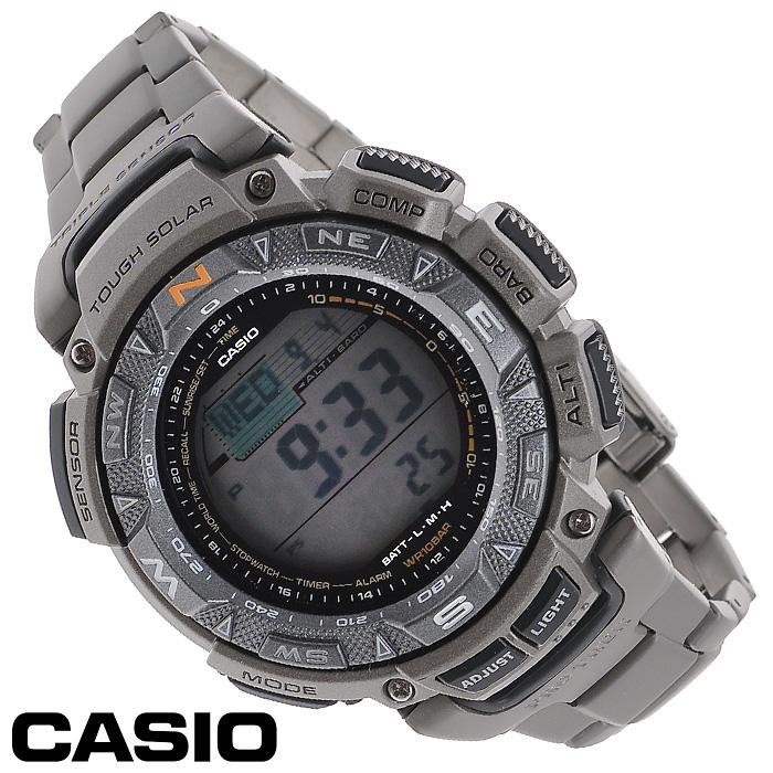 Наручные часы Casio PRG-240T-7EBM8434-58AEМужские часы Casio PRG-240T.