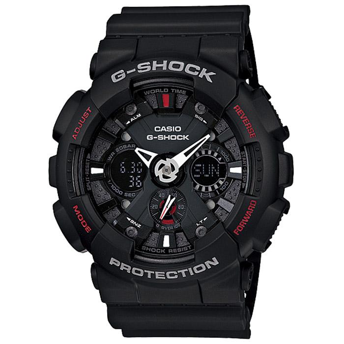 Наручные часы Casio GA-120-1AML597BUL/DЧасы водонепроницаемые и противоударные Casio GA-120.