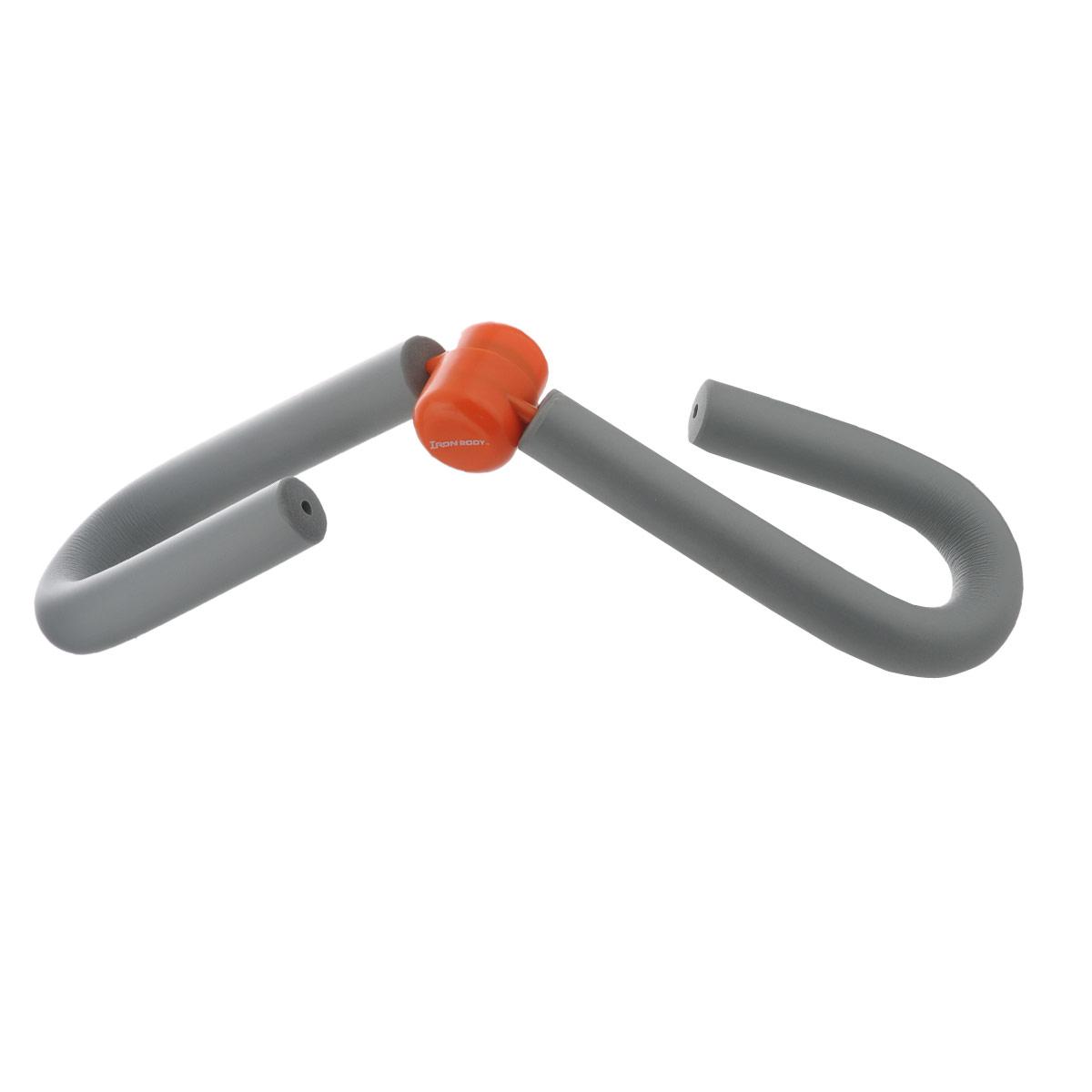Эспандер Easy Body, цвет: серый. 0848CP0848CPЭспандер Easy Body с мягкими рукоятками предназначен для укрепления мышц бедра, голени, ягодиц, рук и груди. Использование эспандера укрепит ваши мышцы и улучшит рельефы тела.