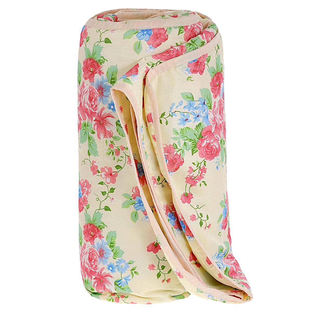 Одеяло летнее OL-Tex Miotex, наполнитель: овечья шерсть, цвет: сливочный, 200 х 220 смV30 AC DCЛетнее одеяло OL-Tex Miotex создаст комфорт и уют во время сна. Стеганый чехол выполнен из полиэстера и оформлен красочным рисунком. Внутри - наполнитель из натуральной овечьей шерсти.Свойства шерсти уникальны, а шерсть овцы человек с древних времен использует себе на пользу. Шерсть овцы воздухопроницаема, она имеет между ворсинками воздушные пузырьки, что обеспечивает прекрасную терморегуляцию. Овечья шерсть прогревает тело сухим теплом, успокаивает боль, создает атмосферу комфорта. Шерсть помогает бороться со стрессом, обладает успокаивающим эффектом.Летнее одеяло из натуральной овечьей шерсти удобно и комфортно, оно создаст оптимальный микроклимат в постели - в теплое время года под ним не будет ни холодно, ни жарко. Рекомендации по уходу:- Нельзя стирать.- Нельзя отбеливать. - Не гладить. Не применять обработку паром.- Нельзя выжимать и сушить в стиральной машине. - Химчистка с использованием углеводорода, хлорного этилена. Размер одеяла: 200 см х 220 см. Материал чехла: 100% полиэстер. Материал наполнителя: овечья шерсть. Плотность: 100 г/м2.