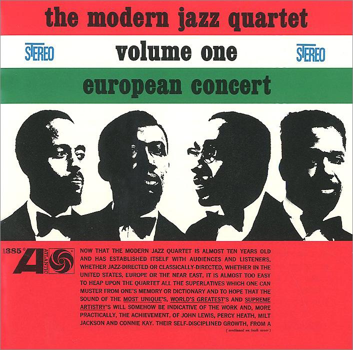 Zakazat.ru The Modern Jazz Quartet. European Concert. Volume One