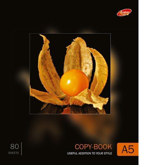 Academy Style Тетрадь в клетку Оранжевая ягода, 80 листов, формат А572523WDЭту тетрадь, без сомнения, хватит на целый год и даже дольше. Это очень удобно, так как нужная информация с собственными комментариями будет всегда под рукой. Кроме того, освежить знания можно будет во много раз быстрее.Уважаемые клиенты! Поставка возможна в одном из приведенных вариантов обложки, в зависимости от наличия на складе.
