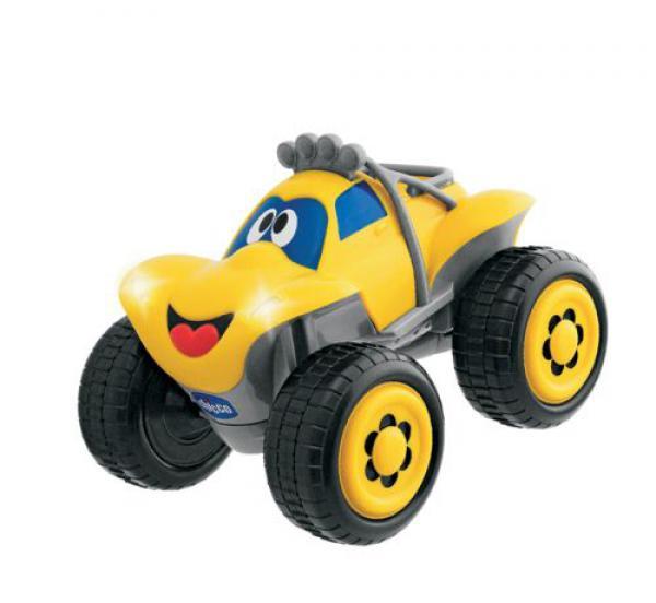 Этот яркий внедорожник с большими колесами, несомненно, привлечет внимание малыша! К машине прилагается пульт с дистанционным управлением. Внедорожник вибрирует, при разгоне издает звук работающего мотора, резко тормозит. Пульт управления выполнен в виде руля, повороты руля задают направление движения автомобиля. Порадуйте своего малыша таким замечательным подарком!