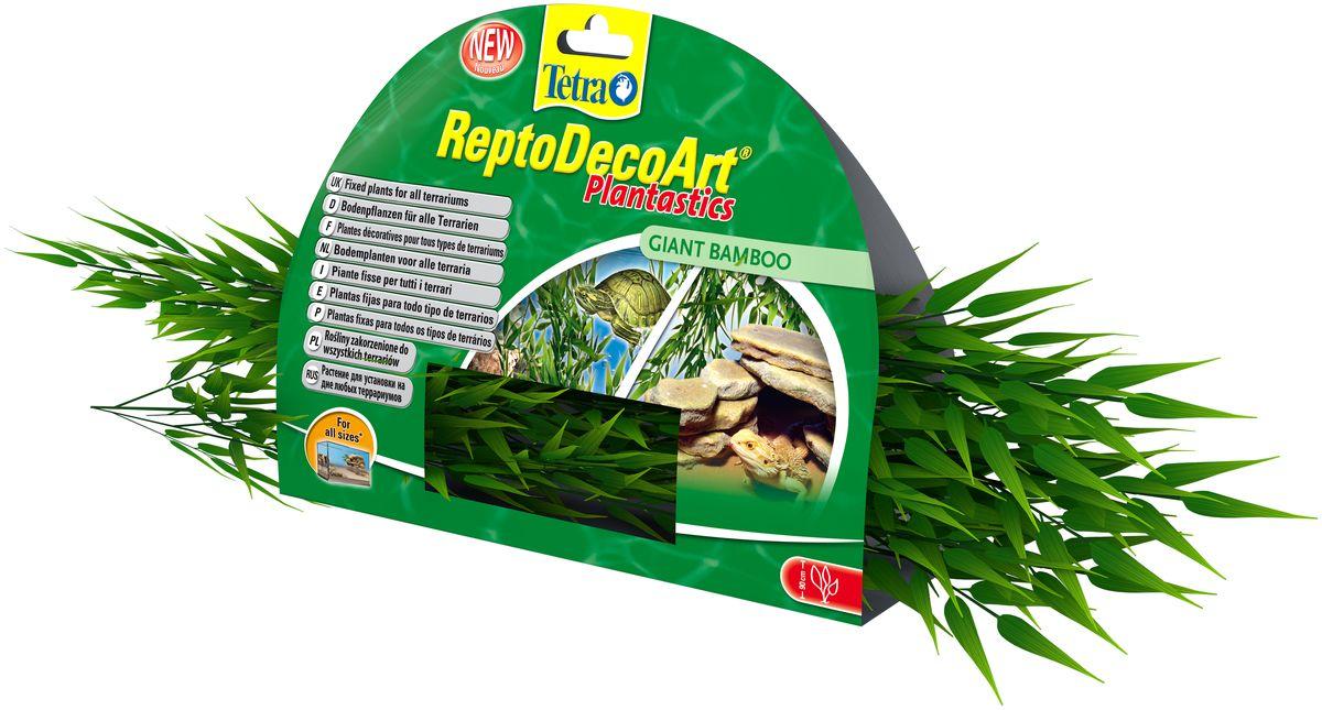 Искусственное плавающее растение для террариума Tetra Бамбук0120710Это растение хорошо подойдет для оформления аква-террариума.Естественно выглядящее искусственное растение;Легко и быстро устанавливается;Не требует ухода, легко очищается.Размер растения: 90 см.