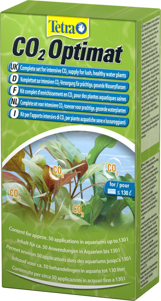 Диффузионный набор Tetra CO2-Optimat для внесения СО2 в воду0120710Tetra CO2-Optimat - это диффузионный набор для внесения в воду углекислого газа. Комплект позволяет оптимизировать содержание в воде углекислого газа, в котором нуждается водная растительность для активного развития. Необходим для улучшения развития водной растительности, обогащения воды углекислым газом. Система состоит из флакона с СО2, массой 11 г, диффузора, соединяющей трубки. Использование комплекта позволяет избежать образования налета на стекле аквариума, поверхности растений. Набор рекомендован для аквариумов, которые имеют объем не более 100 литров.