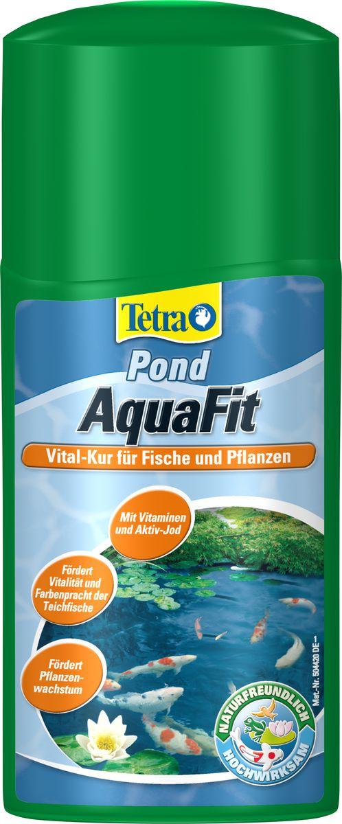 Средство для создания естественных условий в пруду Tetra Pond AquaFit, 250 мл0120710Tetra Pond AquaFit - средство для создания естественных условий в пруду. Препарат, предназначенный для оживления прудовой воды, создающий естественные условия обитания для всех прудовых рыб. с витаминами группы В и активным йодом; улучшает самочувствие рыб и делает их менее восприимчивыми к заболеваниям; поддерживает жизненную активность рыб и улучшает яркость их естественной окраски; стимулирует метаболизм и улучшает рост растений; усиливает рост фильтрующих бактерий, улучшая качество воды; эффективное действие с препаратом Tetra Pond AquaSafe; легко дозировать благодаря мерному колпачку. Товар сертифицирован.