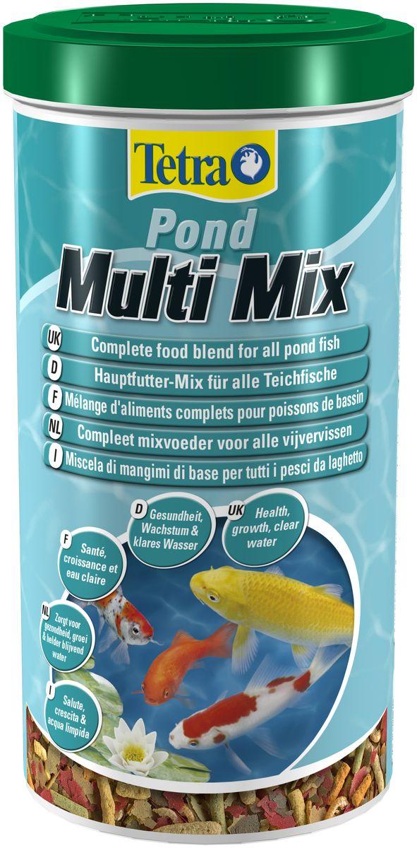 Корм Tetra Pond MultiMix, для всех видов прудовых рыб, 1 л0120710Tetra Pond Multi Mix - пищевая смесь из нескольких сортов корма в виде палочек,хлопьев, таблеток и гаммаруса обеспечит натуральное питание всех прудовыхрыб. Кормовые хлопья идеальны для кормления мелких и молодых рыбок. Кормовые палочки предназначены для рыб средних и крупных размеров верхнегослоя воды. Опускающиеся на дно таблетки являются идеальным кормом для донных рыб.Входящие в состав корма рачки гаммаруса являются природным лакомством длярыб. Высококачественный пластиковый пакет защищает корм от вредного воздействиясолнечного света, воздуха и влажности. Это означает, что основные веществакорма защищены и корм остается свежим, обеспечивая самое лучшее кормление.Объем: 1 л.Товар сертифицирован. Условия хранения: от +5 С° до + 25 С°