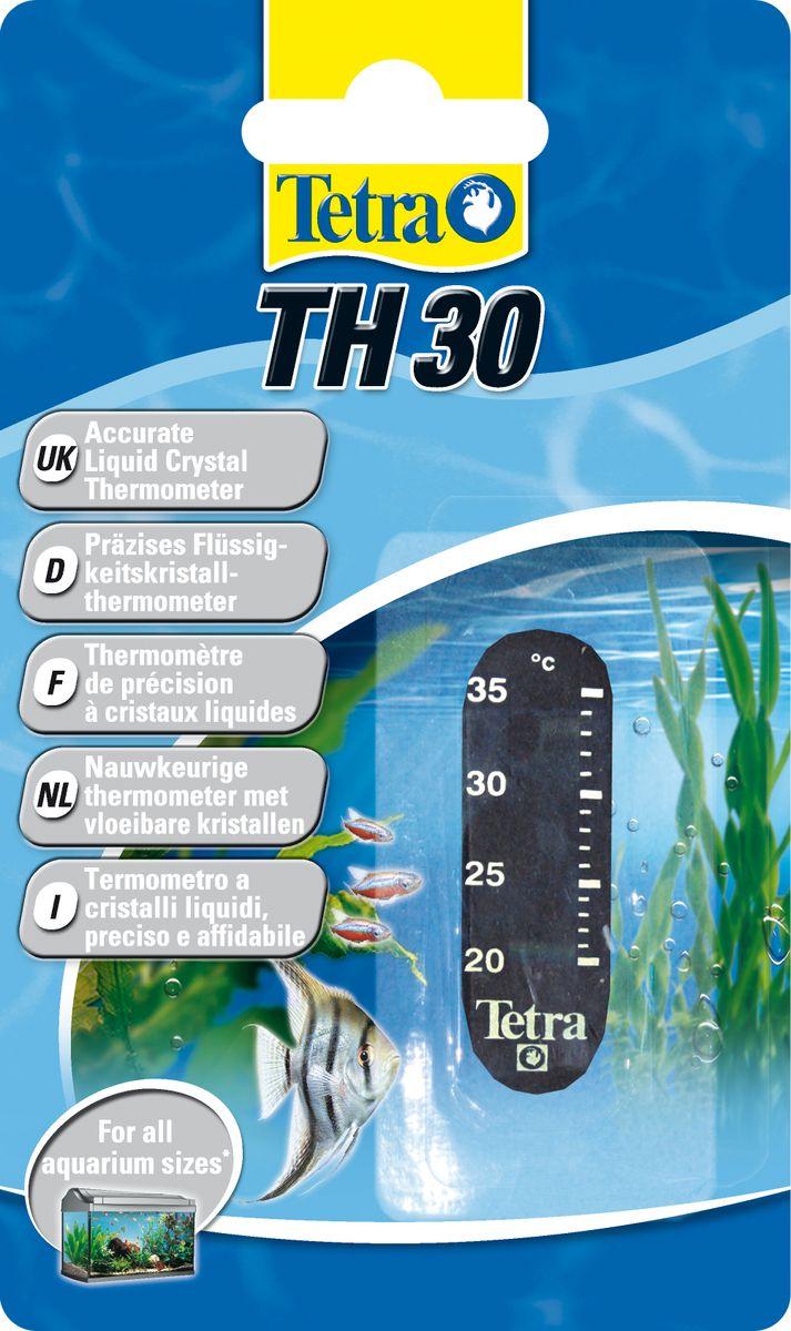 Термометр для аквариума Tetra TH300120710Точный жидкокристаллический термометр крепится на внешней стороне аквариумного стекла.Точно измеряет температуру воды в диапазоне 20-30°С.Легко считываемые показания прибора.Компактный, приятный дизайн.