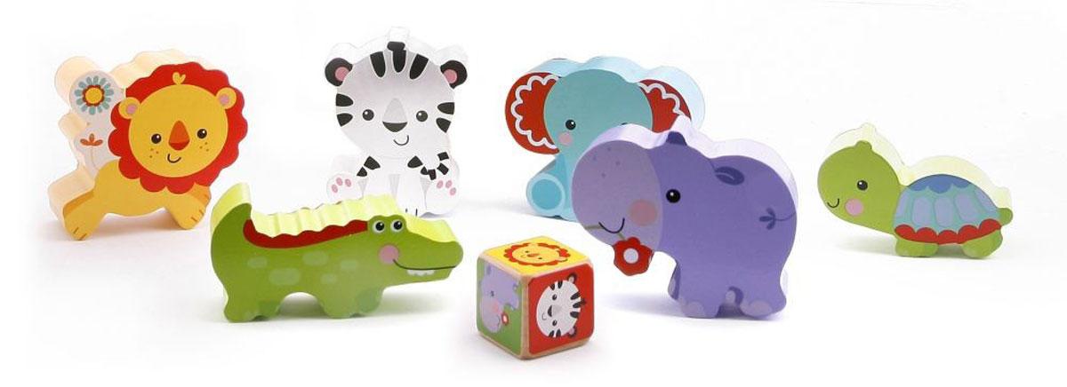 Fisher-Price Развивающие игрушки Животные домино маленький полиглот игрушки и животные