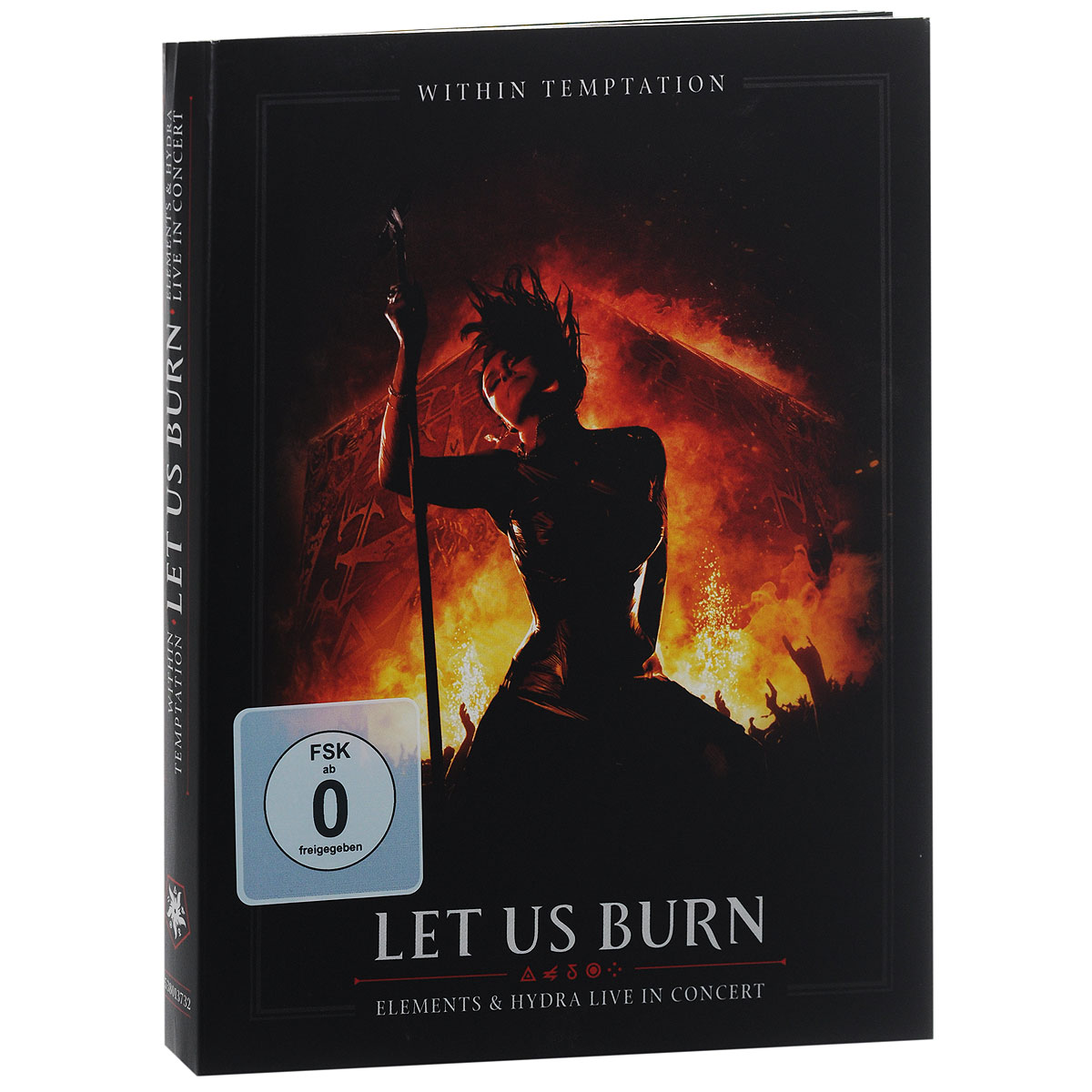 Within Temptation Within Temptation. Let Us Burn (Elements & Hydra Live In Concert) (2 CD + DVD) yes yes in the present live from lyon 2 cd dvd