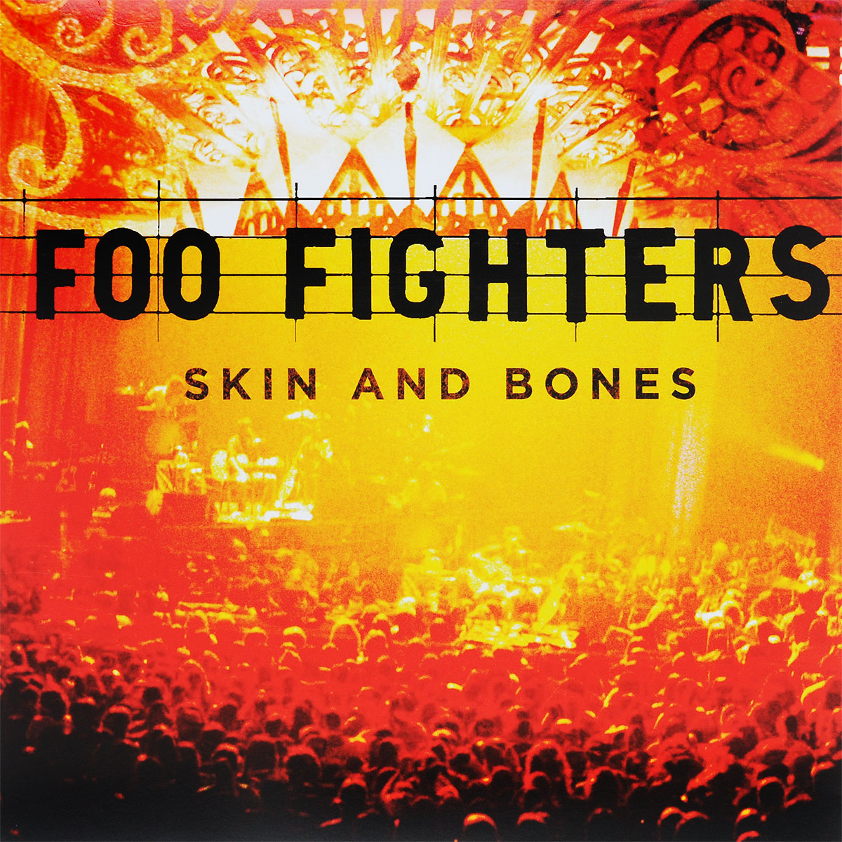 Foo Fighters Foo Fighters. Skin & Bones (2 LP) купальник женский animal phoebe peacoat